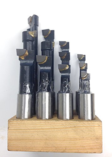HHIP 3/4 INCH C6 12 PIECE BORING BAR SET (1001-0004)