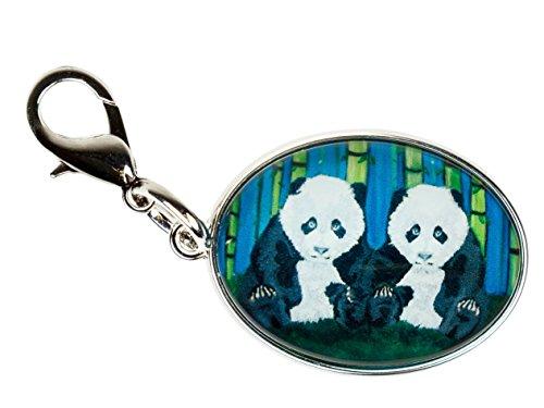 (Panda Zipper Pull Charm, Bag Charm (Giant Panda) Animal)