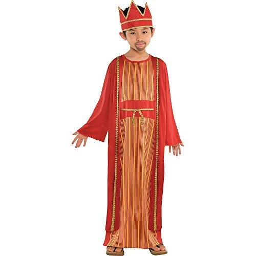 Boy's Balthazar Wise Man Costume | Medium (8-10) ()