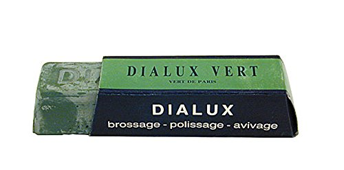 One Bar of Green Dialux ( Vert ) Jewelers Polishing Compound Rouge - Paste