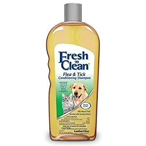 Fresh'n Clean Flea and Tick Small Pet Conditioning Shampoo, 18-Ounce 96