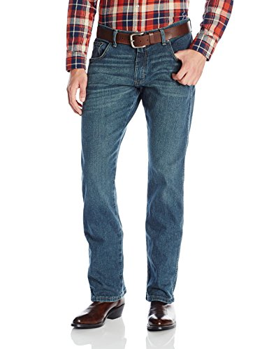Wrangler Men's Retro Slim Fit Straight Leg Jean, Macon, 30W x 30L
