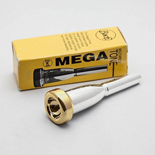 Bach 24K Gold Rim & Cup Megatone Trumpet Mouthpiece, 3C