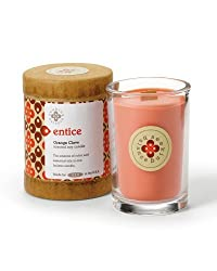 Root Scented Seeking Balance Entice Candle, Orange Clove By Root