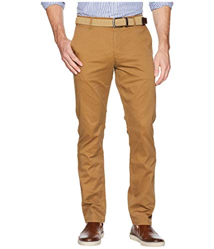 Dockers Men's Slim Fit Original Khaki All Seasons Tech Pants, Leather, 36 32