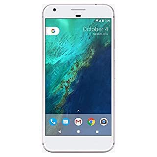 Google Pixel XL Phone 128GB - 5.5 inch Display (Factory Unlocked US Version) (Very Silver)
