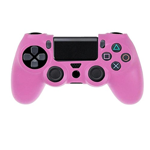 Price comparison product image Clearance !  Ninasill  Exclusive Soft Silicone Case Cover For Playstation PS4 Controller (Pink)
