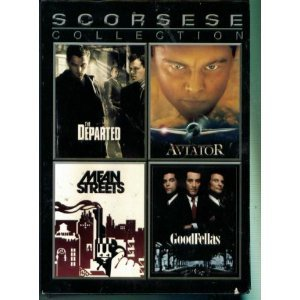 Scorsese Collection (Widescreen): The Departed 2-Disc Special Edition, Goodfellas 2-Disc Special Edition, Mean Streets, The Aviator 2-Disc Special - Means Aviators