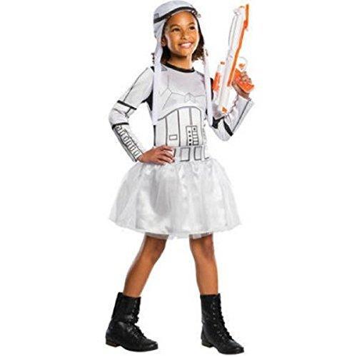 Stormtrooper Costumes Disney (Disney Star Wars Stormtrooper Girls Dress (L 10-12))