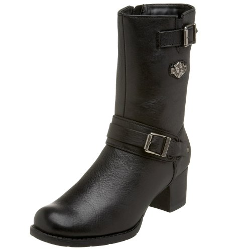 Harley Davidson Women's Serita Boot - Black - 7 B(M) US