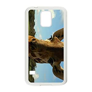 The Lovely Giraffe Hight Quality Plastic Case for Samsung Galaxy S5 by icecream design