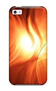 For Iphone 5c Tpu Phone Case Cover(artistic Abstract)
