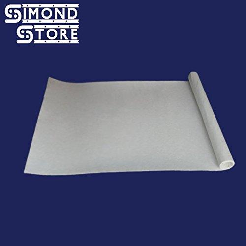 "Simwool Ceramic Fiber Paper (2300 F,1mm Thick) (12"" x 24"") Simond Fibertech Limited"