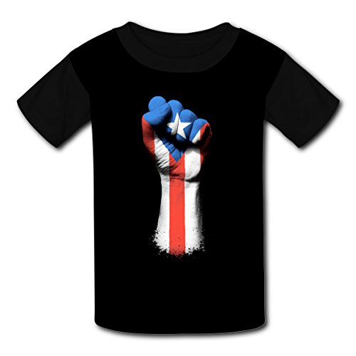 This is my Puerto Rico Shirt Kids Tee Shirt Boys Girls Unisex 2T-XL