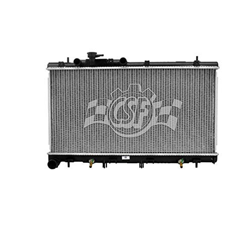 New Radiator For 2001-2004 Subaru Outback Legacy, 3.0 Liter H6, Plastic And Aluminum SU3010111