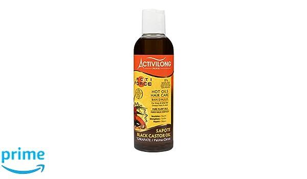 Activilong Actiforce baño de aceites, ricino, aceite de ricino negro, 200 ml: Amazon.es: Belleza