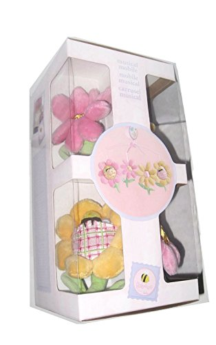Babees Baby Girl's Flower Musical Crib Carousel Carrusel by Dolly