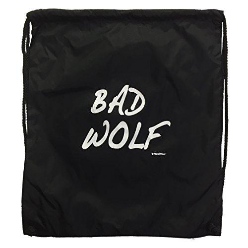 Nani?Wear Doctor Bad Wolf Who Nylon Drawstring Geek Backpack ()