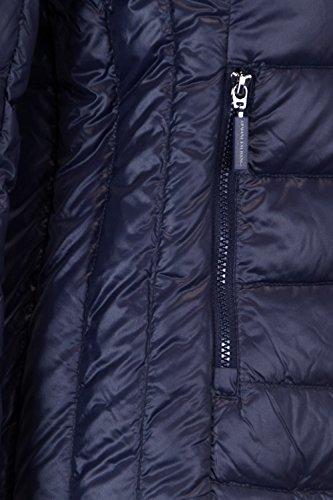 Delle Giacca Blu Poliammide Basso Donne 8nyb01ynm4z1510 Verso Armani Exchange Il nY4YwqUr