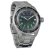 Brand New! Vostok Komandirskie 200 WR Mechanical AUTO Self-Winding Mens Military Wrist Watch #020711