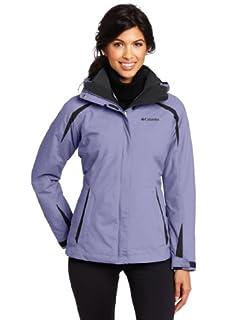 Black Small Columbia Womens Blazing Star Interchange Jacket