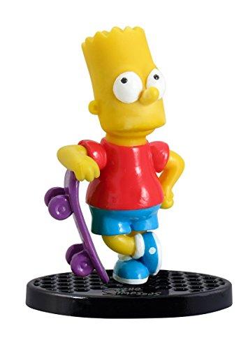 "Simpsons The Bart with Skateboard 2.75"" PVC Action Figure"