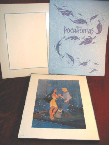 Disney Pocahontas 1995 Commemorative Lithograph with Bonus Framed