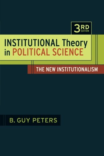 Top 9 institutional theory for 2019