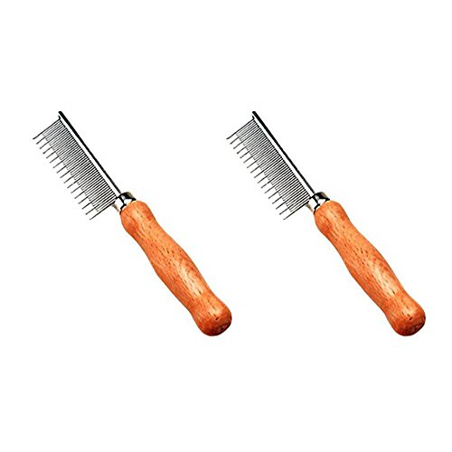 Safari Cat Shedding Comb (2-Pack) by Safari Pet Products