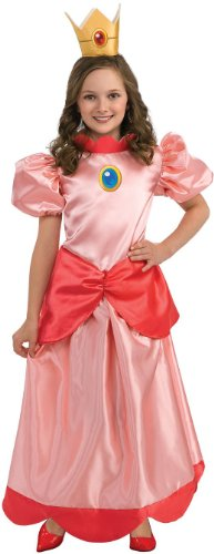 Princess Peach Costume - Large (Kids Princess Costumes)