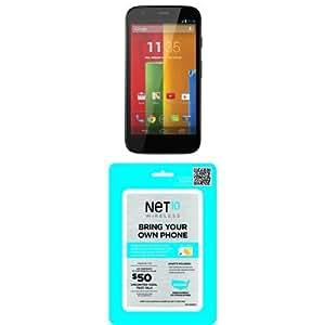 Motorola Moto G 8GB - Global GSM Unlocked with Net10 SIM Card