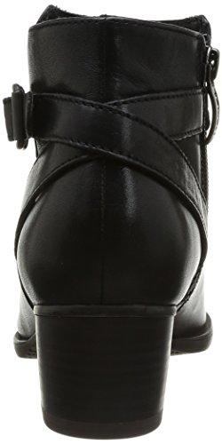 Tamaris 25354 - Botas de cuero mujer negro - Noir (Black 1)
