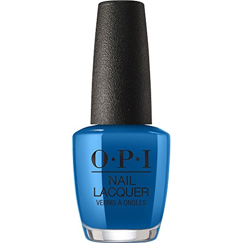 bright blue opi nail polish - 5