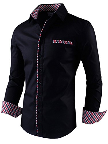 tom 39 s ware mens premium casual inner contrast dress shirt ForTom S Ware Mens Premium Casual Inner Contrast Dress Shirt
