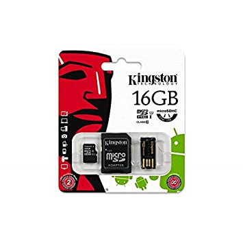 Kit de mobilidad Micro SD 16 GB Kingston Multi Kit con ...