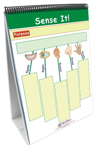 NewPath Learning 10 Piece Thinking Graphically About Science Curriculum Mastery Flip Chart Set, Grade 1-7