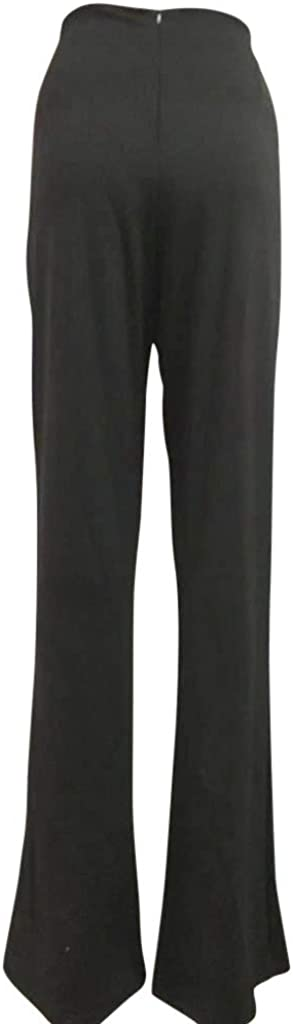 SGYH Pants for Women High Waisted Straight Leg Pants Work Casual Pants Bootcut Pants Formal Trousers Pants
