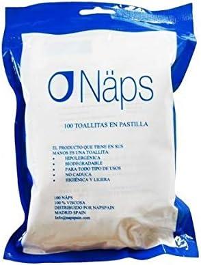 NAPS Bolsa 100 toallitas desmaquillantes: Amazon.es: Belleza