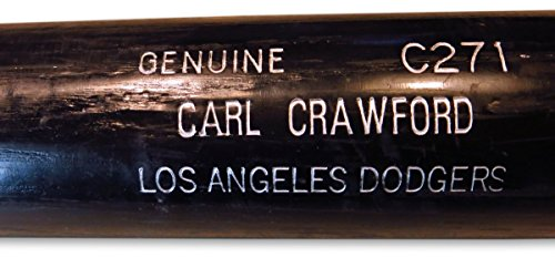 Carl Crawford Team Issue Player Model Bat Los Angeles Dodgers Black -