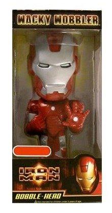 Iron Man Wacky Wobbler Bobblehead Target ()