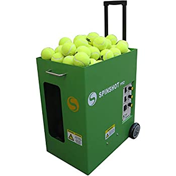 Image of Ball Machines Spinshot Pro Tennis Ball Machine (The Best Model for Easy Use)