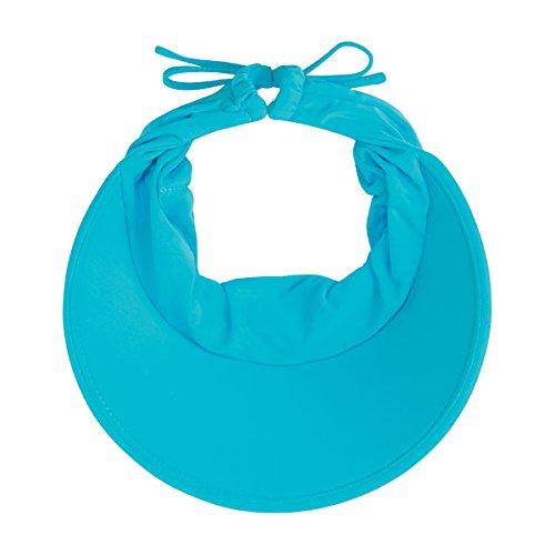Wallaroo Women's Aqua Sun Visor - Quick-Drying Lightweight Sun Hat