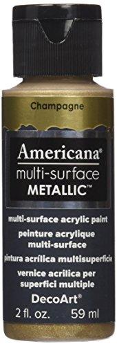 DecoArt Americana Multi Surface Metallic Champagne