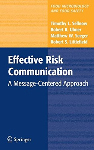 effective risk communication a message-centered approach buyer's guide