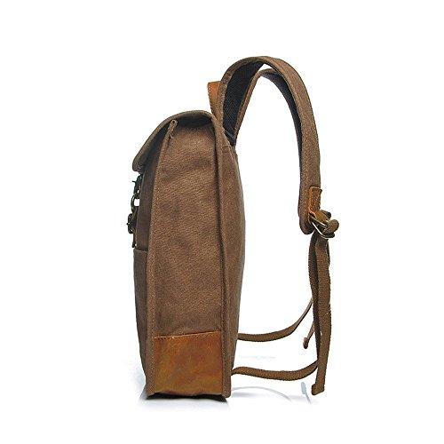 Neu, Retro, Persönlichkeit, Mode, Outdoor-Tasche, Rucksack, Leinentasche, D0205