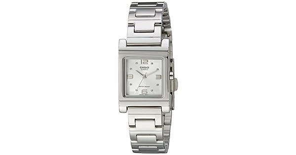 Amazon.com: Reloj negro Casio LTP1237D-7A de cuarzo ...