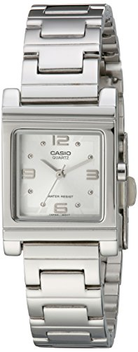Casio Women's LTP1237D-7A Analog Quartz Silver Watch ()
