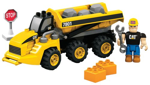 Cat Mega Dump (Mega Bloks CAT Articulated Dump Truck)