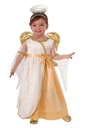 Forum Novelties Golden Angel Costume, Toddler ()
