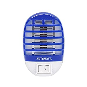 Antomove Bug Zapper Electronic Mosquito Zapper Electronic Insect Killer Eliminates Most Flying Pests, Mosquito & Insect Killer, Gnat Trap